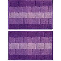 Status Purple Polypropylene Door Mat 38 cm X 58 cm BUY 1 GET 1