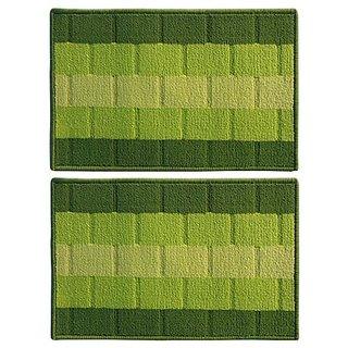Status Green Polyproplene Door Mat ( 15X23 Inch) Buy 1 Get 1