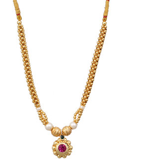 Sushito Beautiful Jijamata Thushi Necklace JSMJWNL0290