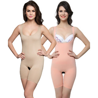 Clovia Multi Nylon Spandex Solid Bodysuit (SWC002F99)