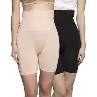 Clovia Multi Nylon Spandex Solid Bodysuit (SWC007J99)