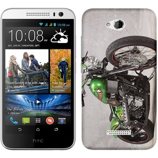 WOW Printed Back Cover Case for HTC Desire 616