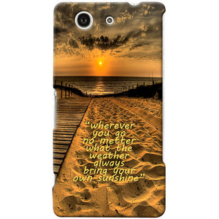 G.store Hard Back Case Cover For Sony Xperia Z3 Compact 25626