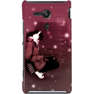 G.store Hard Back Case Cover For Sony Xperia SP 24851