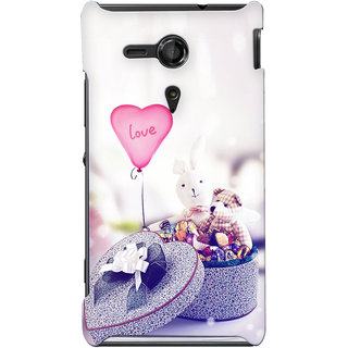 G.store Hard Back Case Cover For Sony Xperia SP 24856