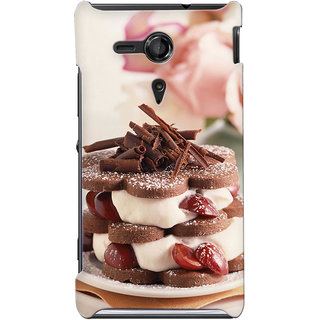 G.store Hard Back Case Cover For Sony Xperia SP 24858