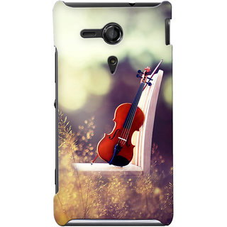 G.store Hard Back Case Cover For Sony Xperia SP 24860