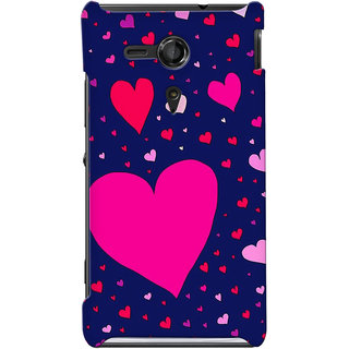 G.store Hard Back Case Cover For Sony Xperia SP 24864