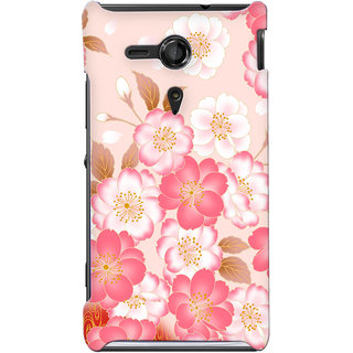 G.store Hard Back Case Cover For Sony Xperia SP 24865