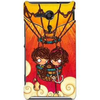 G.store Hard Back Case Cover For Sony Xperia SP 24867