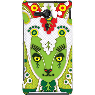 G.store Hard Back Case Cover For Sony Xperia SP 24871