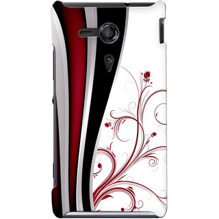 G.store Hard Back Case Cover For Sony Xperia SP 24875