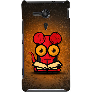 G.store Hard Back Case Cover For Sony Xperia SP 24877