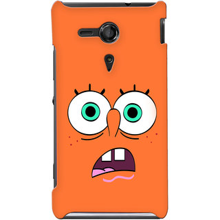 G.store Hard Back Case Cover For Sony Xperia SP 24885