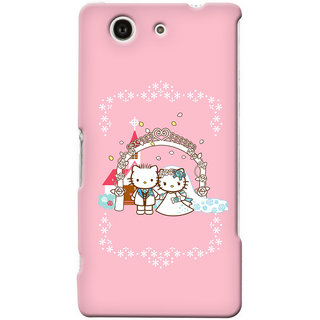 G.store Hard Back Case Cover For Sony Xperia Z3 Compact 25644