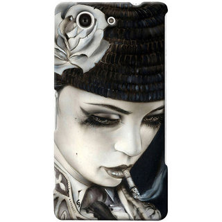 G.store Hard Back Case Cover For Sony Xperia Z3 Compact 25653