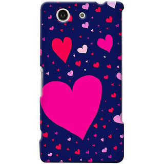 G.store Hard Back Case Cover For Sony Xperia Z3 Compact 25664