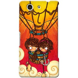 G.store Hard Back Case Cover For Sony Xperia Z3 Compact 25667