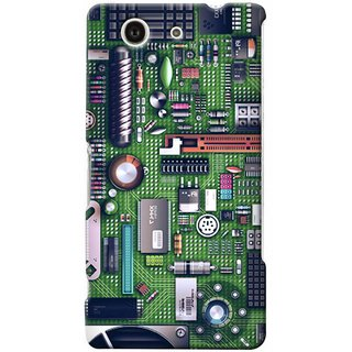 G.store Hard Back Case Cover For Sony Xperia Z3 Compact 25668
