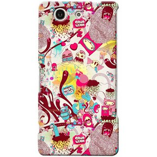 G.store Hard Back Case Cover For Sony Xperia Z3 Compact 25670