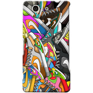 G.store Hard Back Case Cover For Sony Xperia Z3 Compact 25673