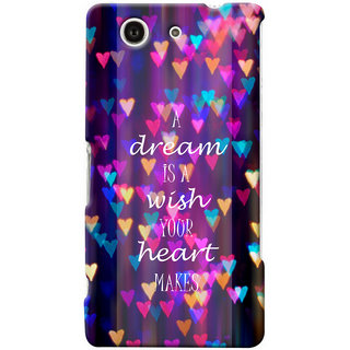 G.store Hard Back Case Cover For Sony Xperia Z3 Compact 25674