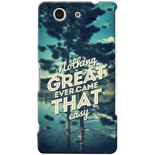 G.store Hard Back Case Cover For Sony Xperia Z3 Compact 25686