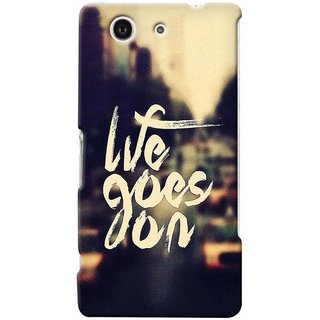 G.store Hard Back Case Cover For Sony Xperia Z3 Compact 25691