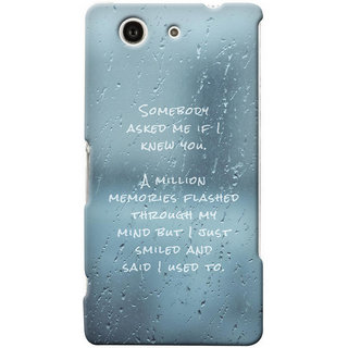 G.store Hard Back Case Cover For Sony Xperia Z3 Compact 25696