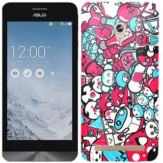 WOW Printed Back Cover Case for Asus Zenfone 6 A600CG / A601CG