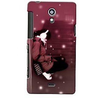 G.store Hard Back Case Cover For Sony Xperia T 24951
