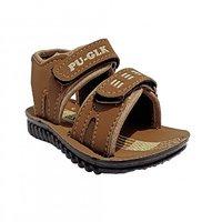 Super Divine Collections - PU GLK Kids Sandals - Brown