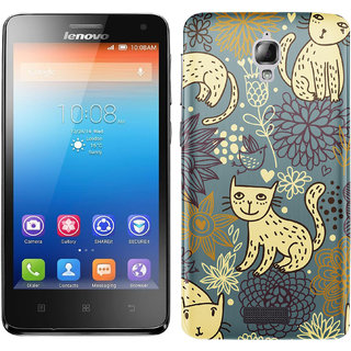 WOW Printed Back Cover Case for Lenovo S660