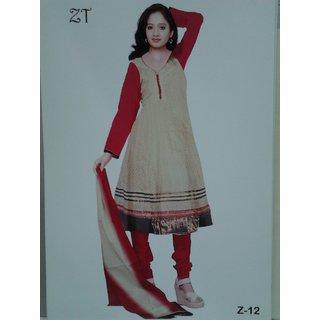 Z 12 - Cotton Jaquard Anarkali