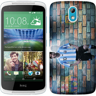 WOW Printed Back Cover Case for HTC Desire 526