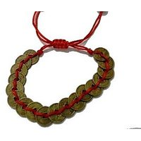 Feng Shui Wealth Coin Bracelet For Success And Wealth