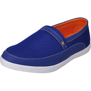 Fausto MenS Blue Casual Loafers (FST 1041 ROYAL BLUE)