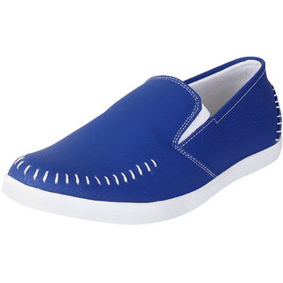 Fausto MenS Blue Casual Loafers (FST 1042 ROYAL BLUE)