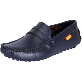Fausto MenS Blue Casual Loafers (FST 111 BLUE)