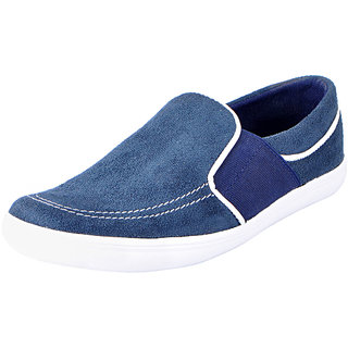 Fausto MenS Blue Casual Loafers (FST 6035 BLUE)
