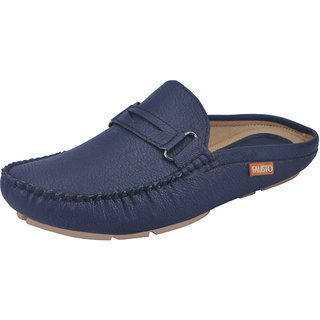 Fausto MenS Blue Casual Loafers (FST 782 BLUE)