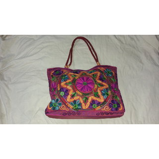 beads bag, handicrafts, gujrati hand bags