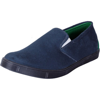 Fausto MenS Blue Casual Loafers (FST 1040 NAVY BLUE)