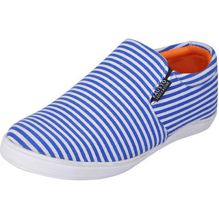 Fausto MenS Blue Casual Loafers (FST 1643 ROYAL BLUE)