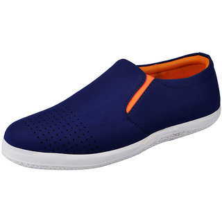 Fausto MenS Blue Casual Loafers (FST 3034 BLUE)