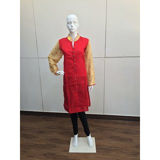Red Kurthi