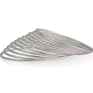 Silver Bangle for Girls