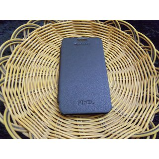 Micromax Superfone Pixel A90 A90S FLIP COVER CASE  DIARY CASE BLACK
