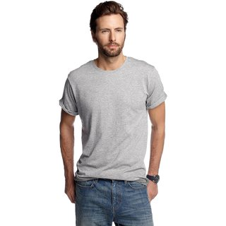 Born to Ride Mens Round Neck T Shirt Melange