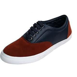 Molessi Orange Blue Lifestyle Sneaker Shoes